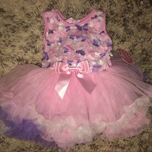 Butterfly pink and purple dress - $25 OBO